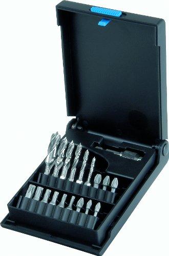 Volkel Q.C. 5 3-10mm HSS Boor en Schroevendraaier Bit Set met 1/4-inch zeskantschacht - VOOR HOUT