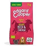 Edgard & Cooper Organic Dry Adult Dog Food - 7kg - Beef & Chicken - Gluten Free & High Quality Protein