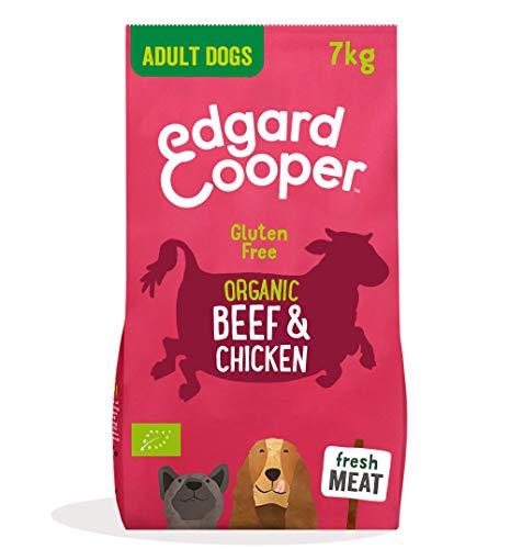 Edgard & Cooper pienso para Perros Adultos sin Gluten, Natural con tenera y Pollo de Corral ecológicos, 7kg. Comida balanceada sin harinas de Carne ni Carnes sobreprocesadas, cocinado a Fuego Lento