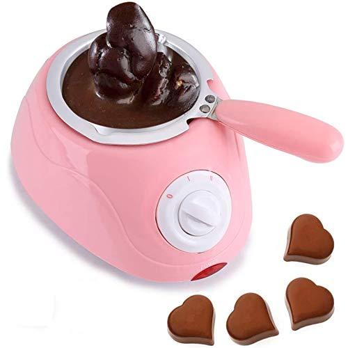 Byjia Fundidor De Chocolate Eléctrico, Crisol De Chocolate Caliente De Plástico, Máquina...