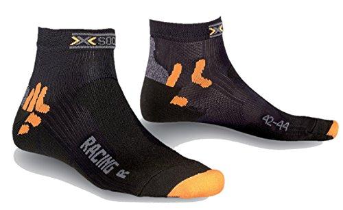 X-Socks Herren Socken BIKING RACING, Black, 35/38, X020002