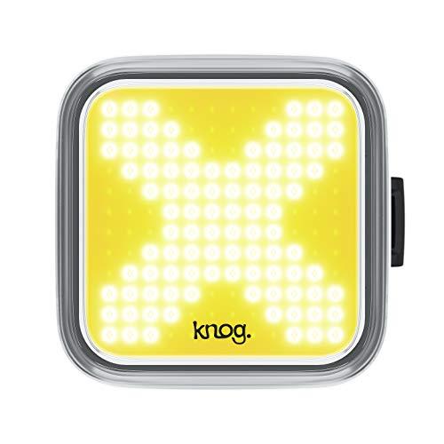 Knog Blinder Front X - Iluminación Frontal para Adulto, Unisex, Color Negro, Talla única