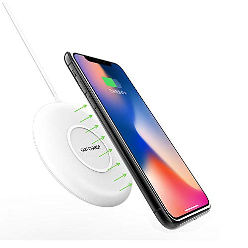 QI Fast Wireless Charger Wireless Charger 7.5W Universal Wireless Charger Wireless Charger Compatibel met een breed scala van ondersteuning voor iPhone X/8 Samsung S8 S7 Note8