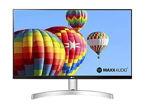 LG 27ML600S Monitor 27  FULL HD LED IPS, 1920x1080, 1ms MBR, AMD FreeSync 75Hz, Audio Stereo 10W, HDMI (HDCP 1.4), VGA, Uscita Audio, Flicker Safe, Bianco