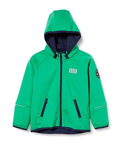 Lego Wear Jungen Lwsam Softshelljacke Jacke, Grün (Green 869), (Herstellergröße: 164)
