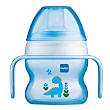 MAM Starter Cup, Sippy Cups for Toddlers with Handles, Boy, 5 Ounces, 1-Count, Designs May Vary...