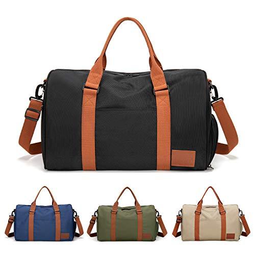 FEDUAN originele handbagage met schoenenvak trainingstas fitnesstas sporttas hoge kwaliteit reistas schouderriem mannen vrouwen vrijetijdstraining reizen