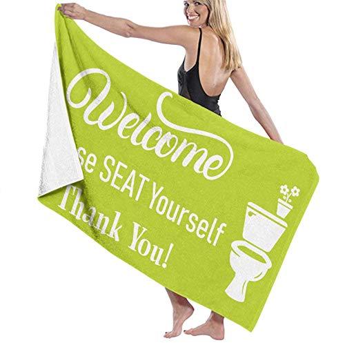 Olie Cam Serviettes de Bain siège-Vous-même Serviette de Plage Douche décor vacances d'été pour Femmes Super absorbant Longues serviettes de lavage à séchage Rapide