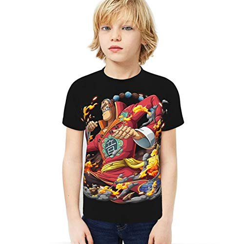 FXNOW Camiseta divertida para niño Scratchmen Apoo AKA Roar O-N-E-Piece Camiseta de manga corta