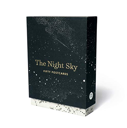 Compare Textbook Prices for The Night Sky: Fifty Postcards 50 designs; archival images, NASA ephemera, photographs, and more in a gold foil stamped keepsake box;  ISBN 9781616897345 by Princeton Architectural Press