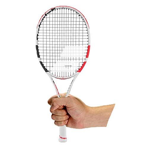 Babolat Mini Racket Pure Strike Raqueta, Adultos Unisex, Blanc Rouge Noir (Blanco), Talla Única