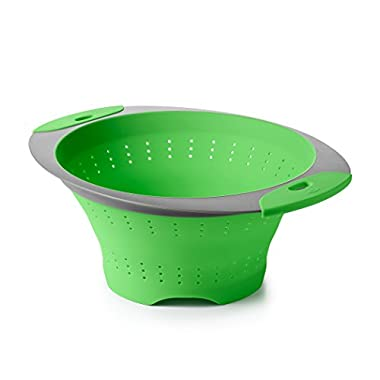 OXO Good Grips Silicone Collapsible Colander, 3.5 Quart