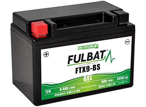 FULBAT - BATTERIE MOTO FULBAT GEL FTX9-BS / YTX9-BS 12V 8,4AH 135A