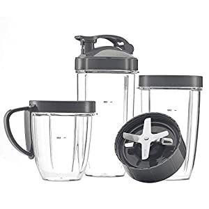 Cup and Blade Set for NutriBullet Replacement High Speed Blender Mixer System,nutribullet 900 series replacement parts…  