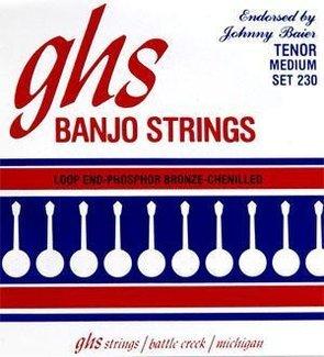 GHS 23011–30Johnny Baier Phosphor Bronze Banjo Saiten Set