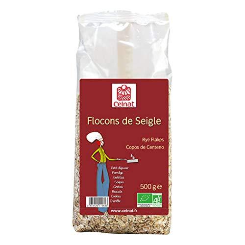 CELNAT - FLOCONS DE SEIGLE 500G
