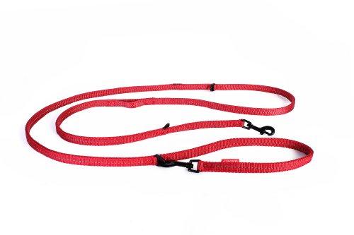 EZYDOG(イージードッグ) [正規代理店品] ヴァリオ6ライト レッド 超小型-中型犬用 200cm