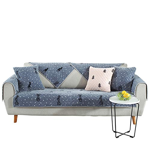 Korte pluche Winter Couch-hoezen, anti-slip, verdikt, 1 stuks sofaovertrek, quilten, zachte meubelbeschermers, huisdier, hond sofa-sprei (verkocht per stuk)