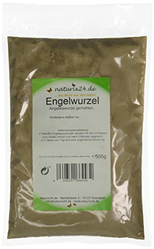 Naturix24 Angelikawurzel gemahlen, 1er Pack (1 x 500 g)