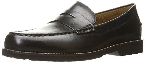 Rockport Men's Classic Penny Loafer,Black Leather,US 9.5 M