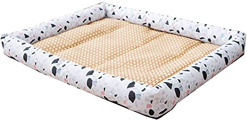 ZouYongKang Colchón de cajón suave del estera del perro para el colchón antideslizante lavable para los perros pequeños grandes y los gatos, la almohadilla de la perros, transpirable, fresco para dorm