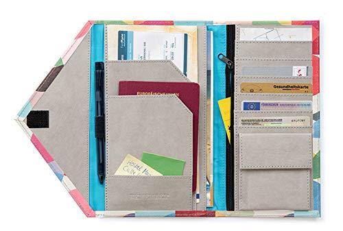 """Remember Travelorganizer """"Solena"""": Der Reise-Allrounder als Platzwunder im Kuvertformat. Deine Reise ist von nun an organisiert und sofort geifbar."""