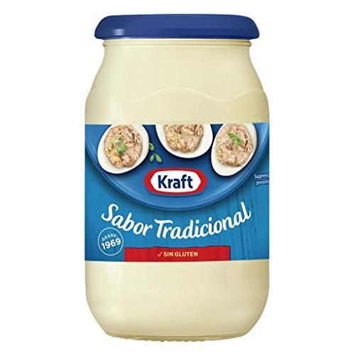 Kraft - Mayonesa - Sabor Tradicional - Sin Gluten - Ideal para Mejorar Tus Comidas - 425 Gramos