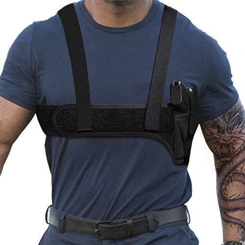 "M LINIXU TIMEBONA Deep Concealment Shoulder Holster (M(33""-38""), Right)"