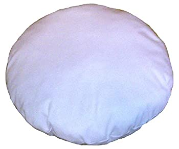 32 Inches Diameter Round Meditation Seating Ottoman Living Room Decor Home Decor Cotton Round Pillow Shams Stuffer Pouf Ottoman Floor Pouf & Cushion Decorative Pillow Insert  1 piece