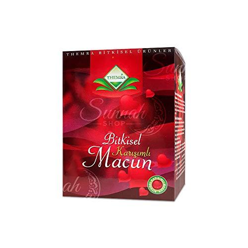 THEMRA MACUN Bitkisel Karisimli - natürliches Aphrodisiakum - Potenzmittel mit echtem Ginseng- Türkische Honig Kräuterpaste - 240 gramm vakumverpackt
