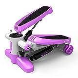 Mini-Stepper-Swing-Stepper-Maschine mit Trainingsbändern - Up-Down-Stepper für Anfänger und...
