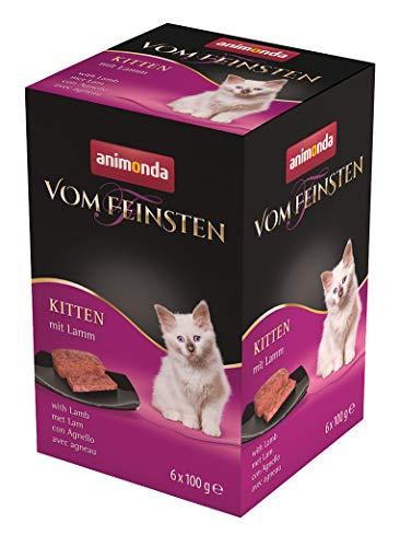bester Test von katzenfutter ohne zucker und getreide animonda Vom Feinsten Kätzchen, Nassfutter für die Aufzucht von 1-jährigen Katzen, Lämmern, 6x…
