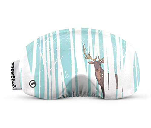 GOGGLESOC Unisex– Erwachsene Brillenschutz, Deer Soc, Unisize