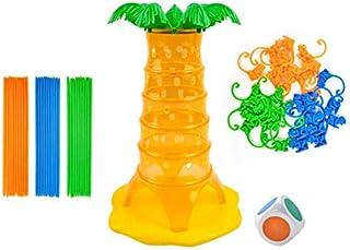 YAMI お猿さんのゲーム 家族ゲーム モンキーツリー ボードゲーム ぶら下がり テーブルゲーム 可愛い猿のおもちゃ 親子 パーティー プレゼント