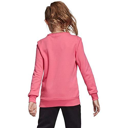 adidas Dziewczęca Yg Mh Bos Crew bluza XXL różowa (Seroso / Magrea)