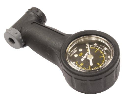 Rolson 42972Fahrrad Reifen Manometer–Schwarz