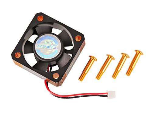 Arrowmax Dash Ultra High Speed Lüfter 30x30x10Alu Black Golden