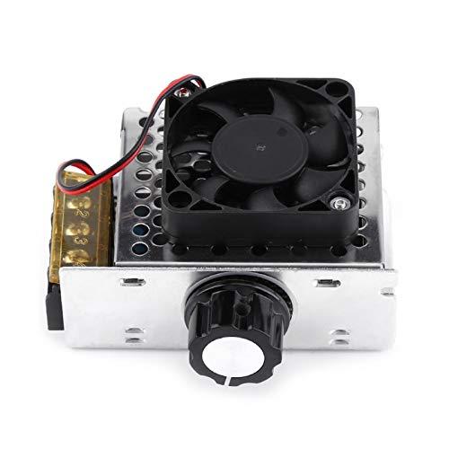 Regulador de voltaje eléctrico Controlador de velocidad del motor Regulador de voltaje Controlador SCR con ventiladores para control de voltaje