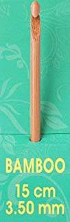Pony Crochet Aiguilles à tricoter en bambou 15 cm - 3,5 mm
