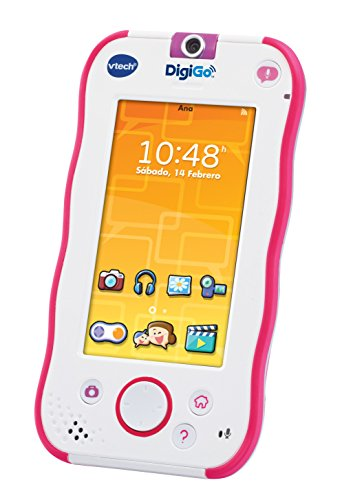 VTech - DigiGo, Tablet Educativo para nios, Color Rosa (3480-168857) [versin espaola actualizada]