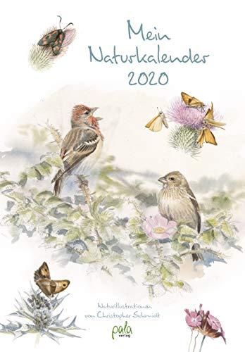 Mein Naturkalender 2020: Naturillustrationen von Christopher Schmidt