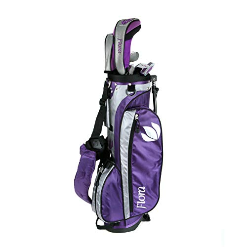 Intech Flora Junior Girls Golf Club Set (Right-Handed, Age 8-12)