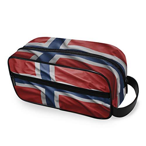 Bolsa de Aseo de Viaje, diseño de Bandera de Noruega