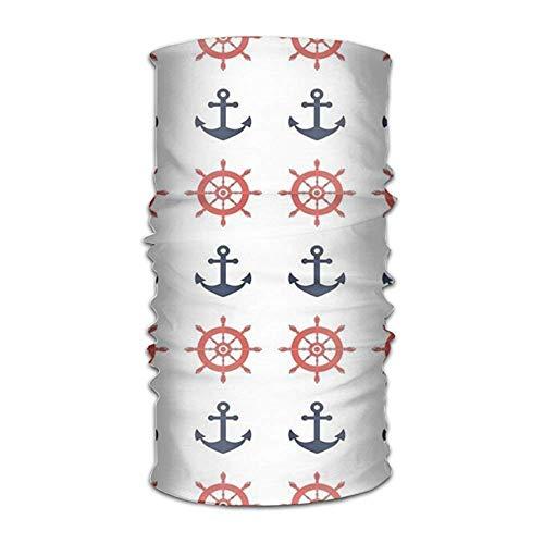 Jolly2T Ship Sighting And Steering Wheel Bandanna Headwear Neck Gaiters Variety Scarf Wrap