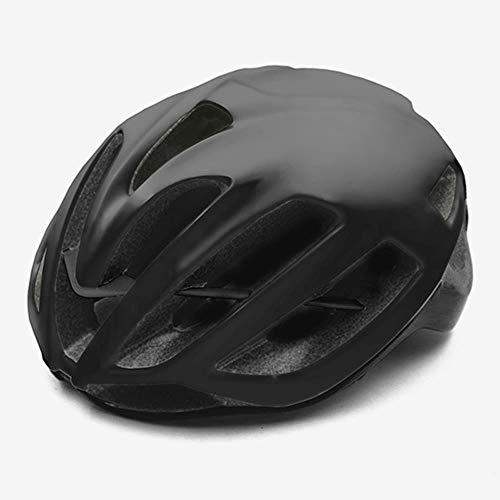 Rode Fietshelm Dames Heren Fietshelm MTB Bike Mountain Road Fietsen Veiligheid Buitensporten Grote Helm, P, M 52-58cm