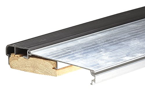 Thermwell Products Frost King TS36A Heavy-Guage Aluminum Sill Threshold, Mill Finish, 5-5/8