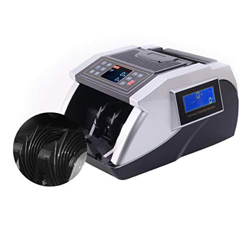 BYCDD Rilevatore di Banconote False, Display LCD Money Detector Compatto e Leggero UV/MG/IR Verificatore banonote False 1500 Pezzi al Minuto,Black_32X28X19CM