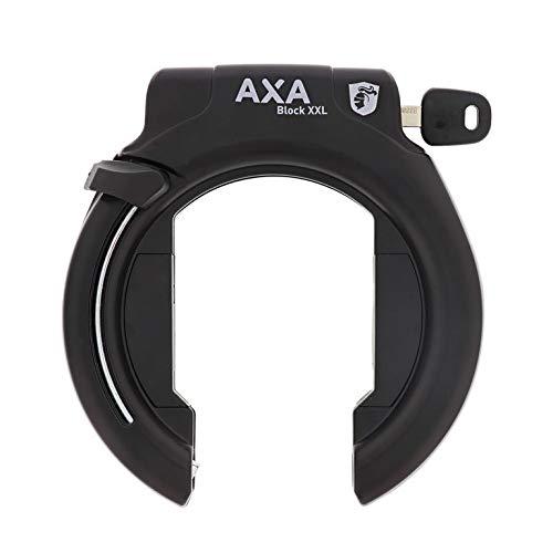 AXA Unisex– Erwachsene Rahmenschloss-2231014000 Rahmenschloss, schwarz, One Size