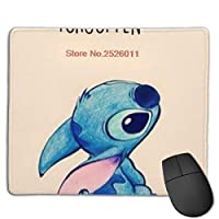マウスパッド スティッチ ゲーミング 防水 耐久性が良い 防水 キーボードパッド おしゃれ 裏面滑り止め 厚さ0.3cmのゴム製 One Size