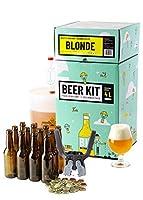 Brassez et embouteillez 4 Litres de bière blonde à partir d'extrait de malt. Taux d'alcool estimé 6%. Le brassage à partir d'extrait de malt en poudre vous permet d'avoir 100% de chance de réussir votre bière et d'entrer dans le monde du brassage en ...